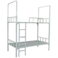 万昌家具:40方管双层床W-14#(带蚊帐架)