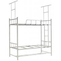 万昌家具:40方管锁片双层铁床W-13#(带蚊帐架)