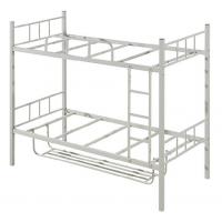 万昌家具:40方管锁片双层铁床W-12#(加厚带鞋架)