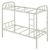 万昌家具:40方管大弯双层铁床W-07#(加厚)