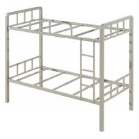 万昌家具:50方管大弯双层铁床W-06#(加厚)