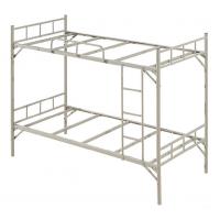 万昌家具:38圆管直柱角铁双层铁床W-05#(加厚)