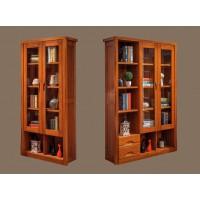 虔南世家雅致胡桃系列家具:509#两门书柜、508#三门书柜