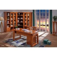 虔南世家雅致胡桃系列家具:315#书台、316#新款书台椅、508#三门书柜、509#两门书柜、510#转角书柜