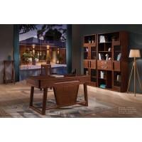 虔南世家斐然迪克品牌家具:991-14#书桌、991-2#两门书柜、991-3#三门书柜、991-1#书椅