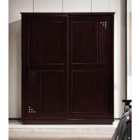 世华新中式家具:两门推拉衣柜908#