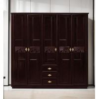 世华新中式家具:五门衣柜908#