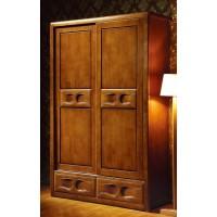 世华中式家具:两门推拉衣柜509#