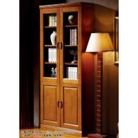 世华中式家具:两门书柜208#