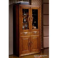 世华中式家具:两门酒柜506#