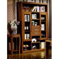 世华中式家具:三门书柜506#
