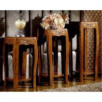 世华中式家具:花架506#