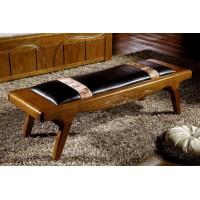 世华中式家具:床尾凳506#