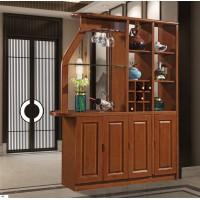 长城橡木客厅系列家具:间厅柜616#(四门)