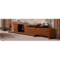 长城橡木客厅系列家具:电视柜623#(可伸缩)