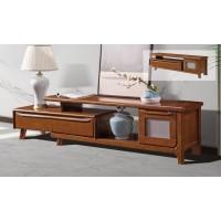 长城橡木客厅系列家具:电视柜A622#(可伸缩)
