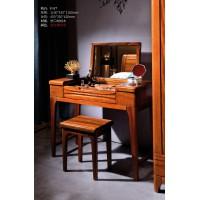 富有黄金胡桃木家具:妆台F117
