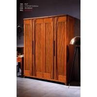 富有黄金胡桃木家具:衣柜F217