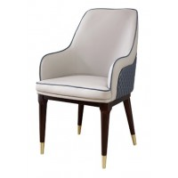 梵臣美尚现代美式轻奢家具:A8018餐椅