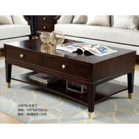 梵臣美尚现代美式轻奢家具:A8019长茶几