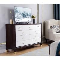 梵臣美尚现代美式轻奢家具:A8019九斗柜