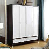 梵臣美尚现代美式轻奢家具:A8019四门衣柜