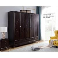 梵臣美尚现代美式轻奢家具:A8019五门衣柜