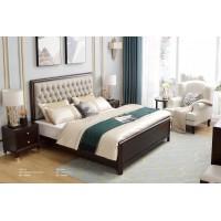 梵臣美尚现代美式轻奢家具:A8013床
