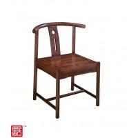 禺舍禅意新中式民宿家具:322白蜡木中元椅