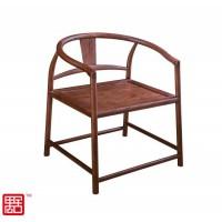 禺舍禅意新中式民宿家具:307白蜡木茶椅