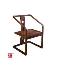禺舍禅意新中式民宿家具:305白蜡木茶椅
