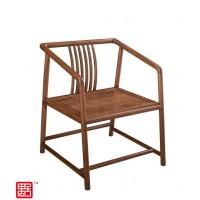 禺舍禅意新中式民宿家具:303白蜡木茶椅