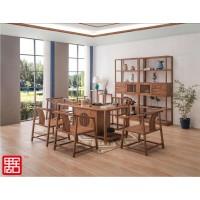 禺舍禅意新中式民宿家具:8008白蜡木茶桌