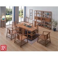 禺舍禅意新中式民宿家具:8012白蜡木茶桌