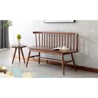 缘之林北欧白蜡木家具:温莎椅WSY806#、小圆几CJ806#