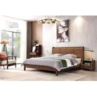 缘之林北欧白蜡木家具:床C806#