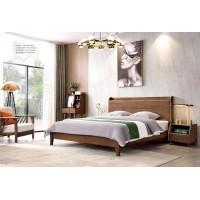 缘之林北欧白蜡木家具:床C801#