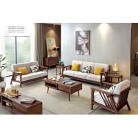 缘之林北欧白蜡木家具:沙发SF801#