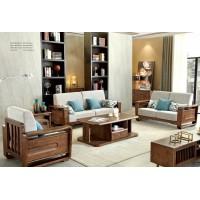 缘之林北欧白蜡木家具:沙发SF805#