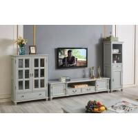 华夏国康简美高级灰系列高酒柜GK009#、电视柜GK012#、矮酒柜GK008#