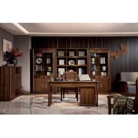 佐霖家具尚柚系列书柜、书桌312#、书椅02#