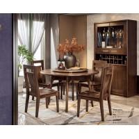 佐霖家具尚柚系列圆餐桌5008#、餐椅07#