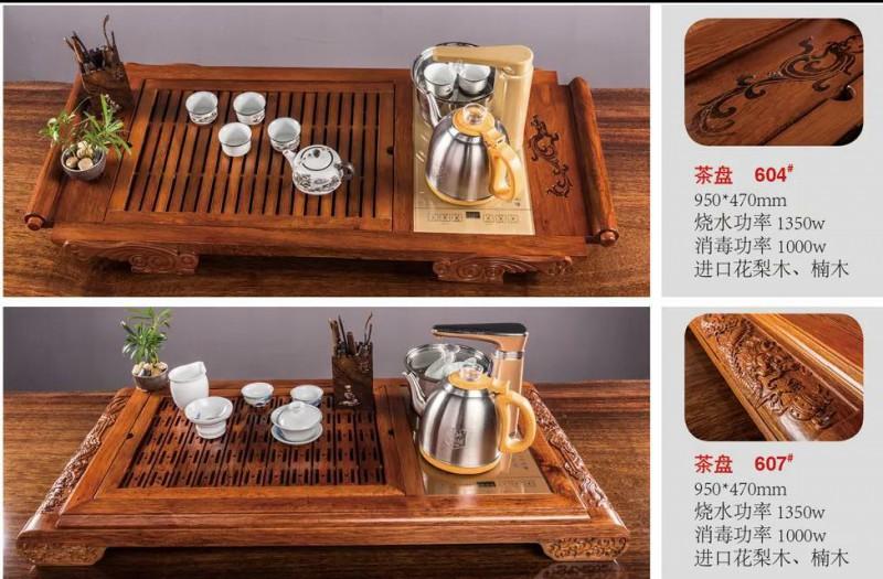 江西南康茶友轩实木茶台产品3