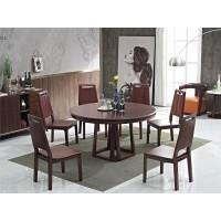 华民盛现代轻奢圆桌A201、西餐椅A01