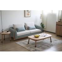 现代简约风格家具厂家,北美红橡+黑胡桃木家具,不下家居品牌招商,南康尚好居家具