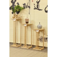 菲百年新中式禅意北美白蜡木家具27