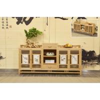 菲百年新中式禅意北美白蜡木家具22