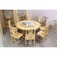 菲百年新中式禅意北美白蜡木家具18