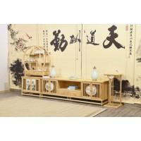 菲百年新中式禅意北美白蜡木家具17