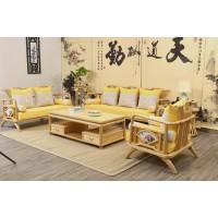 菲百年新中式禅意北美白蜡木家具14